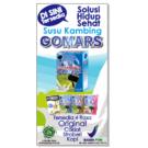 Baner / spanduk Media Promosi Susu Kambing GOMARS