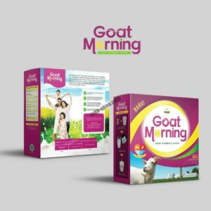 Susu Kambing Goat Morning